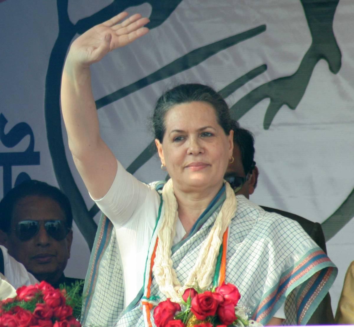 India, netta vittoria  di Sonia Gandhi