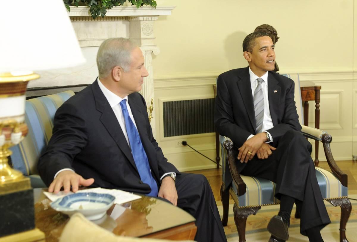 Netanyahu gela Obama:   secco no di Israele   a uno Stato palestinese