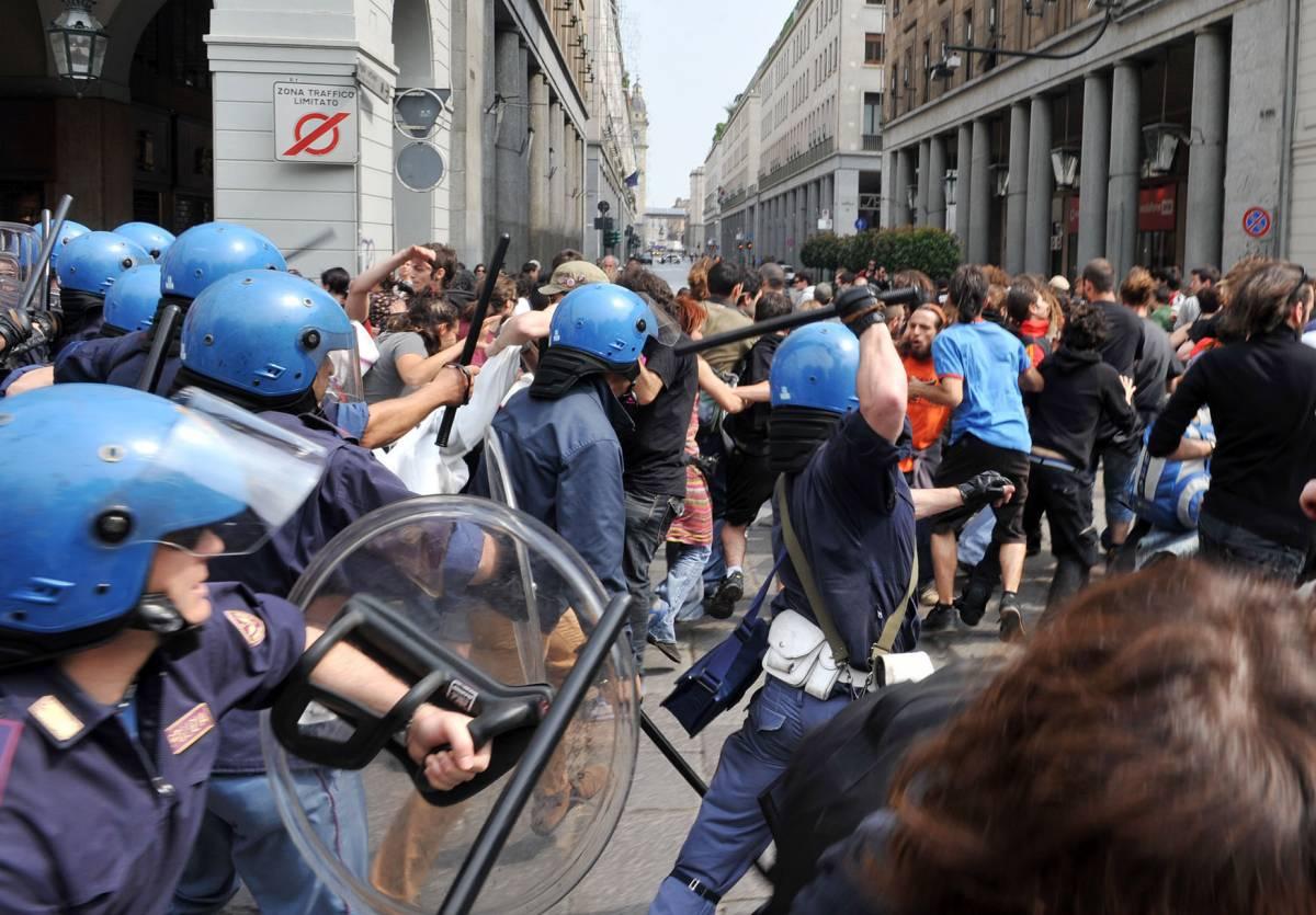 Violenza in piazza, chi soffia sul fuoco   Tra nuove Br, anarchici e black bloc