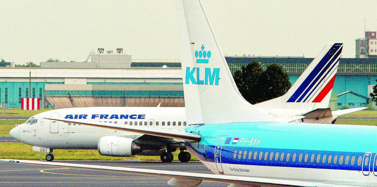 """Anno nero per Air France-Klm """"ma siamo soddisfatti di Alitalia"""""""