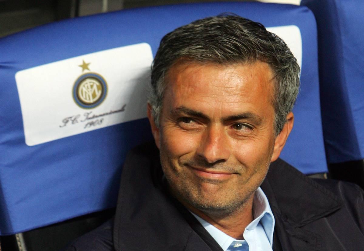 """Mourinho, addio al Real:  """"Resto all'Inter al 99%"""""""