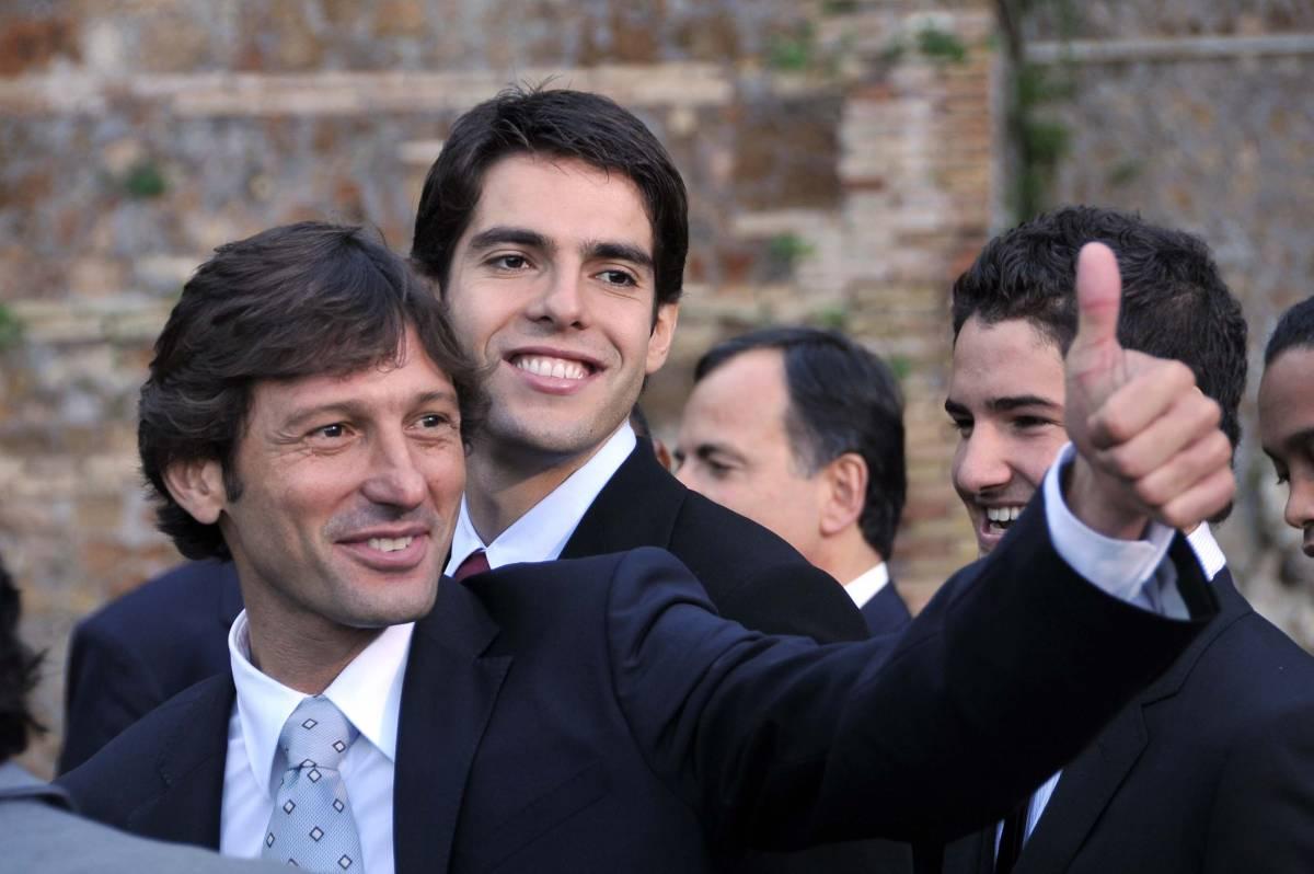Il Milan ha deciso: Leonardo  in panchina per blindare Kakà