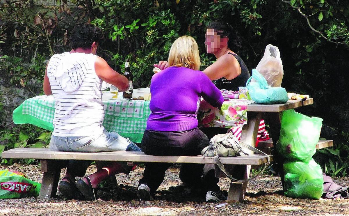 Chiassose grigliate nei giardini di Villa Croce