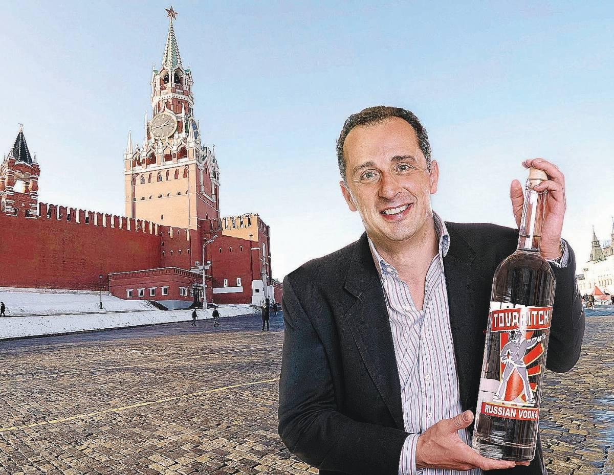 L'erede di Carlo Magno  che distilla in Russia  la vodka per i compagni