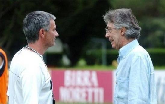 """Moratti e il fastidio Mou:  """"Questa storia finisca"""""""