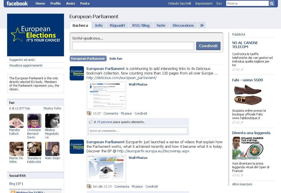 Strasburgo punta sul web: da Facebook a You Tube