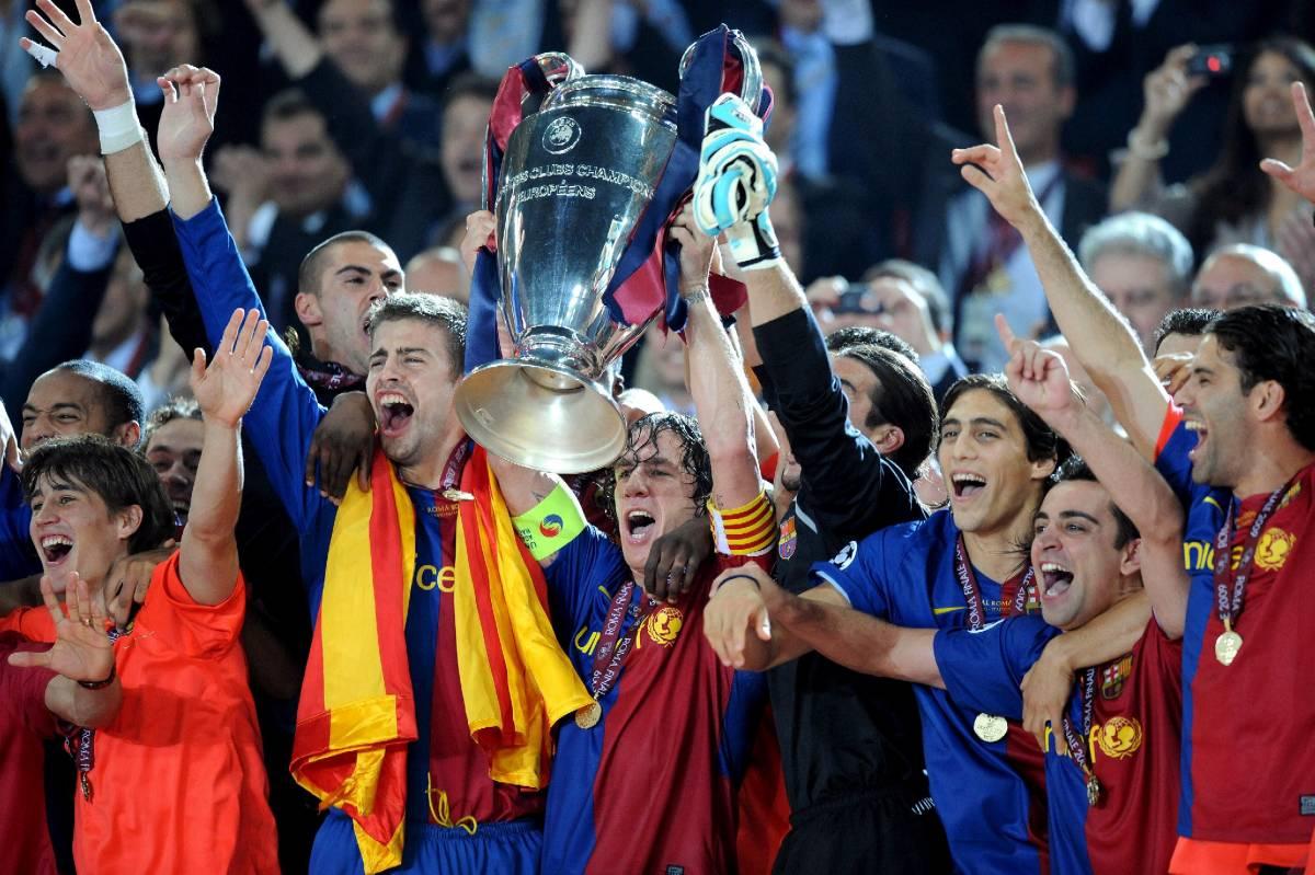 Champions, Roma  incorona il Barcellona:  2 a 0 sul Manchester