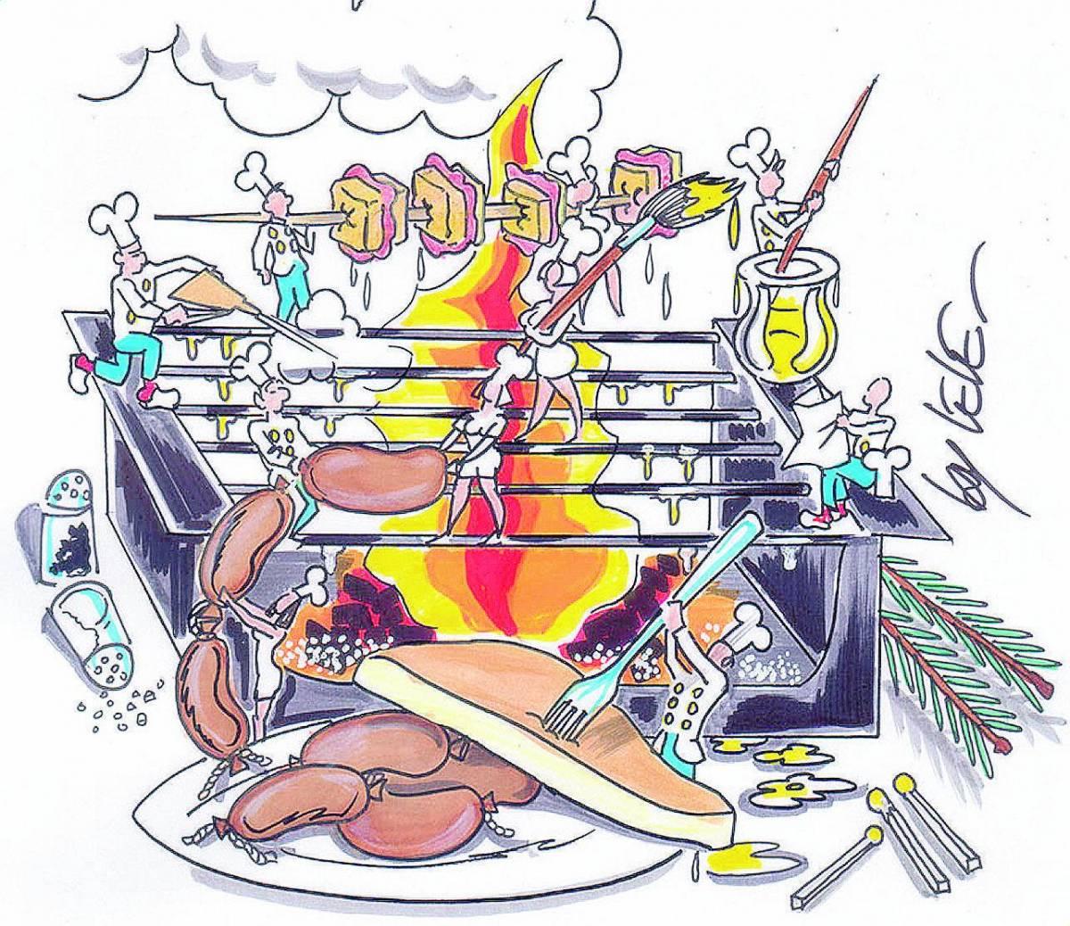 Barbecue Un... desco per l'estate