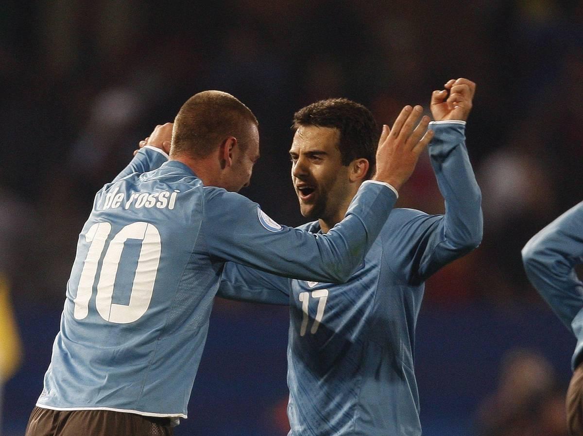 L'Italia va sotto ma risorge  Rossi più De Rossi: 3-1