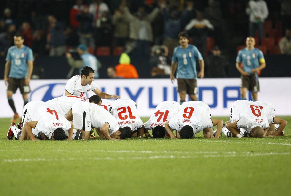Italia: sconfitta clamorosa  Azzurri spreconi, egiziani no