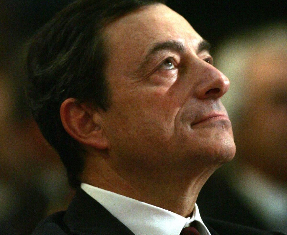 "Crisi, Draghi: ""Per le imprese è rischio usura"""