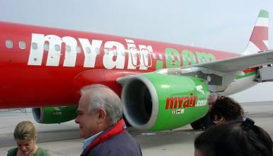 L'Enac sospende la licenza di volo alla MyAir