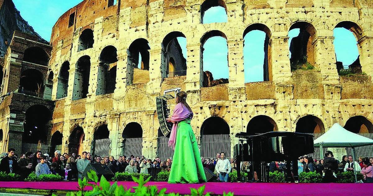 La «Tosca» tra le vie di Roma