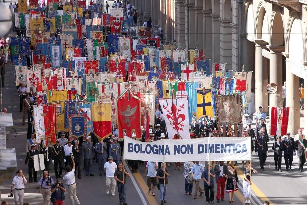 """Strage di Bologna, Napolitano:  """"Non dimenticare la follia terrorista""""  Fischi a Bondi: """"E' odio politico"""""""