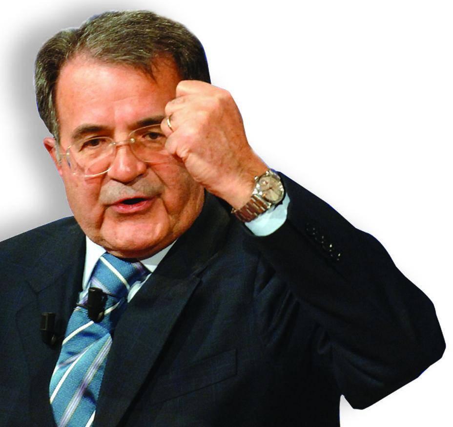 Ora Prodi dà lezioni di Europa in tv