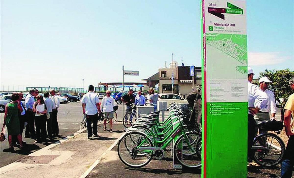 Ostia Il bike sharing sbarca anche sul litorale: verso le 70 postazioni