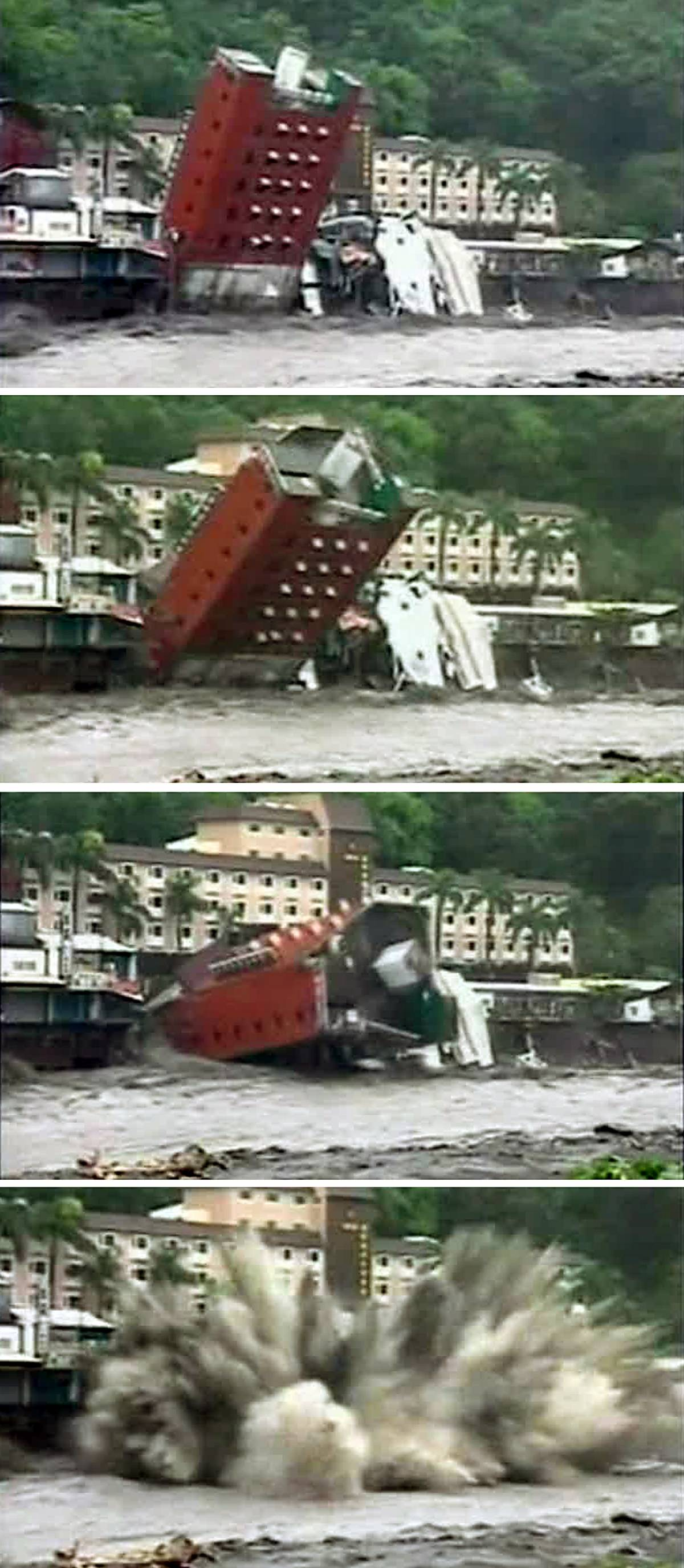 Il tifone Morakot spazza le coste  della Cina: un milione di evacuati