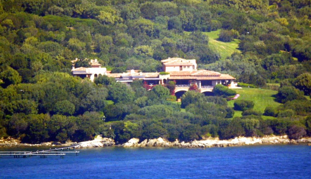 Villa Certosa, residenza di Silvio Berlusconi