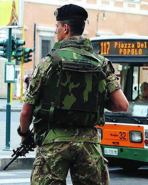 Rinforzi Altri 115 militari, Cie e ambasciate più sicure