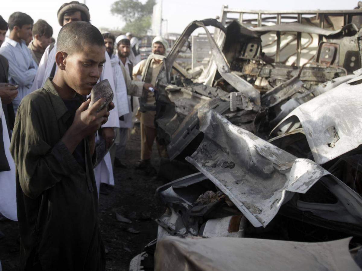 Afghanistan, razzi talebani su Kabul: 18 morti
