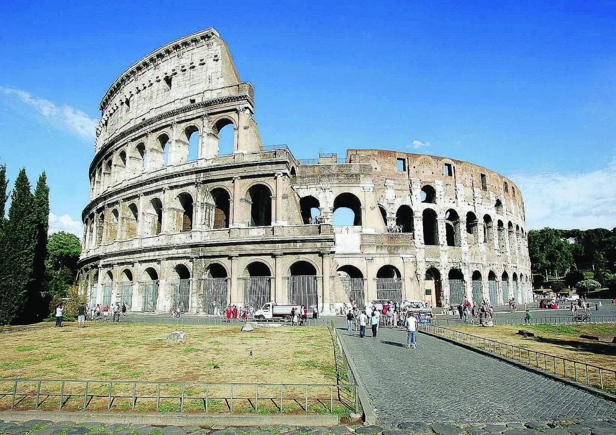 Il Colosseo, una delle porte dell'inferno