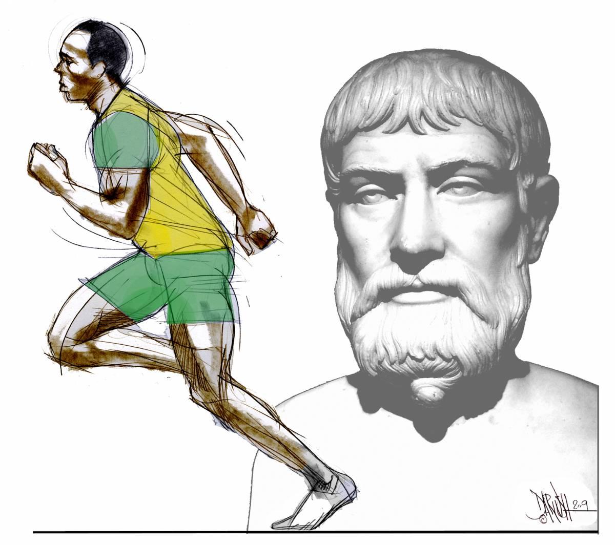 Pindaro e Bolt, il mondo in 9 secondi