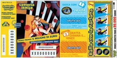 Via alla Lotteria Italia: doppio premio