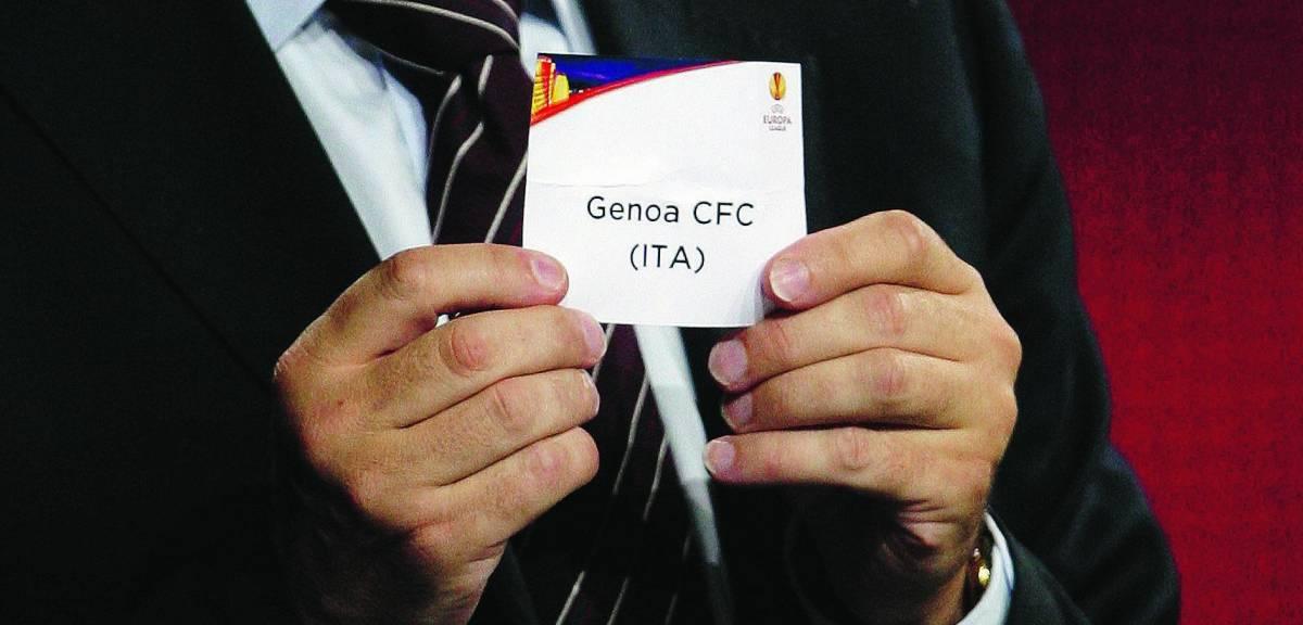 Europa League, il Genoa nel girone degli ex