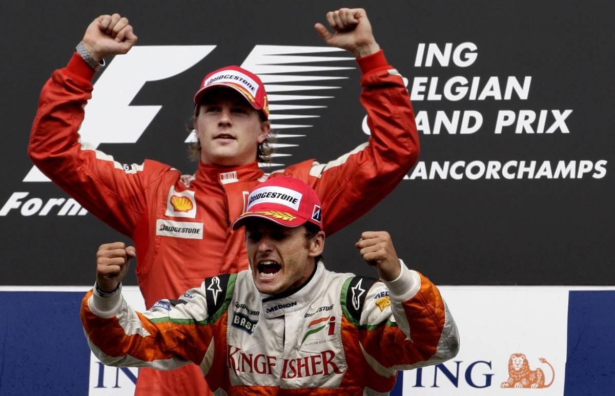 Spa: Fisichella dietro a Raikkonen  E giovedì può sbarcare in Ferrari