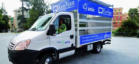 Nuovi Ecovan per i rifiuti