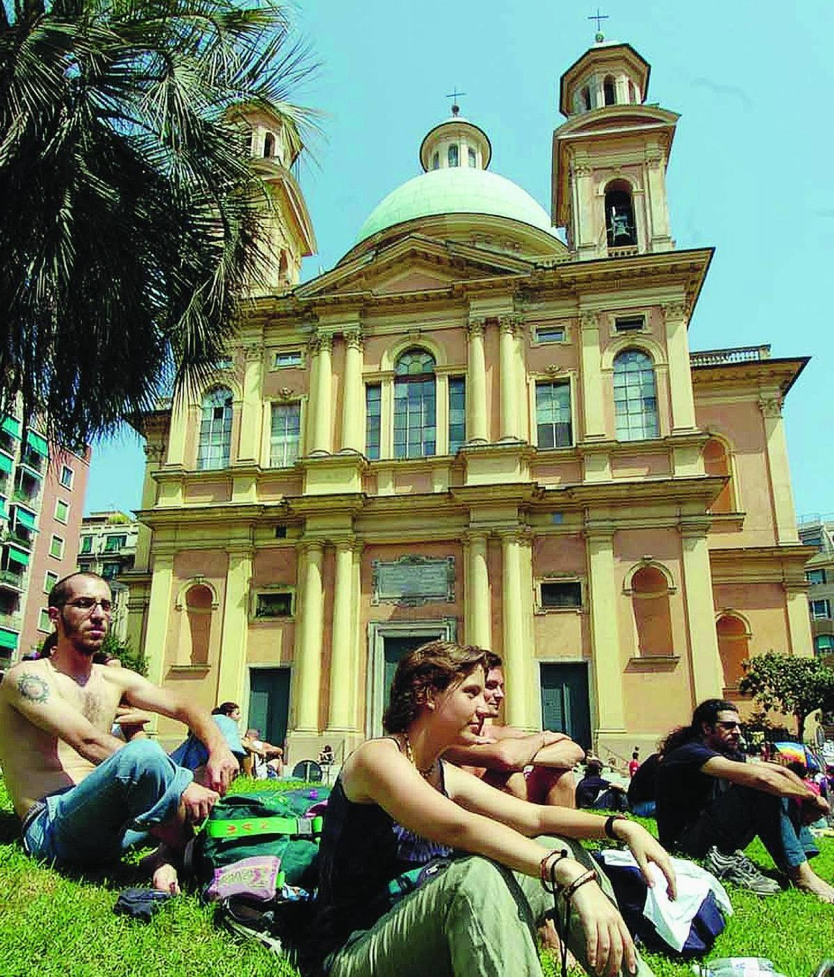 Giovanni, Vittorino e don Luigi: i veri eroi di piazza Alimonda