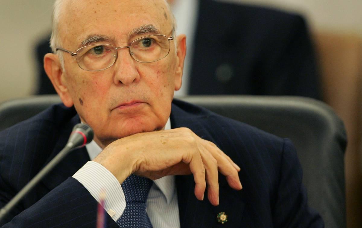 """Napolitano alle istituzioni  """"Vigilare contro la mafia"""""""