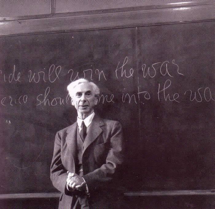 Bertrand Russell come un supereroe, la sua vita diventa un fumetto