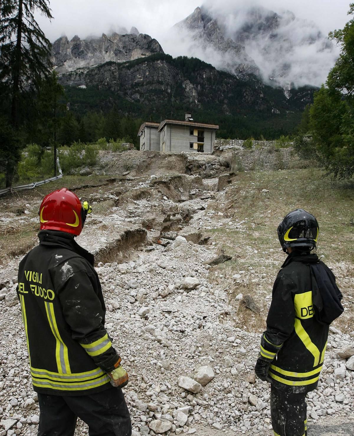 Maltempo nel Nord Est  Nubifragi in Alto Adige