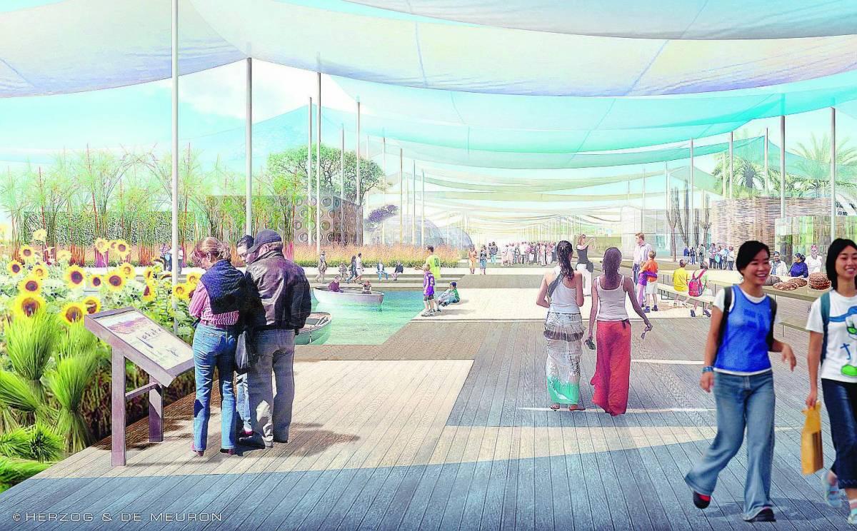 Expo, un orto botanico per coltivare il mondo