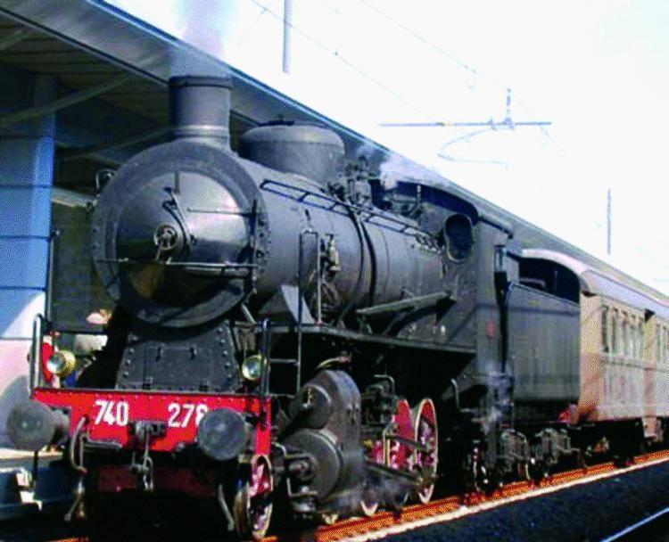 Un treno degli anni trenta da Nervi a Rossiglione