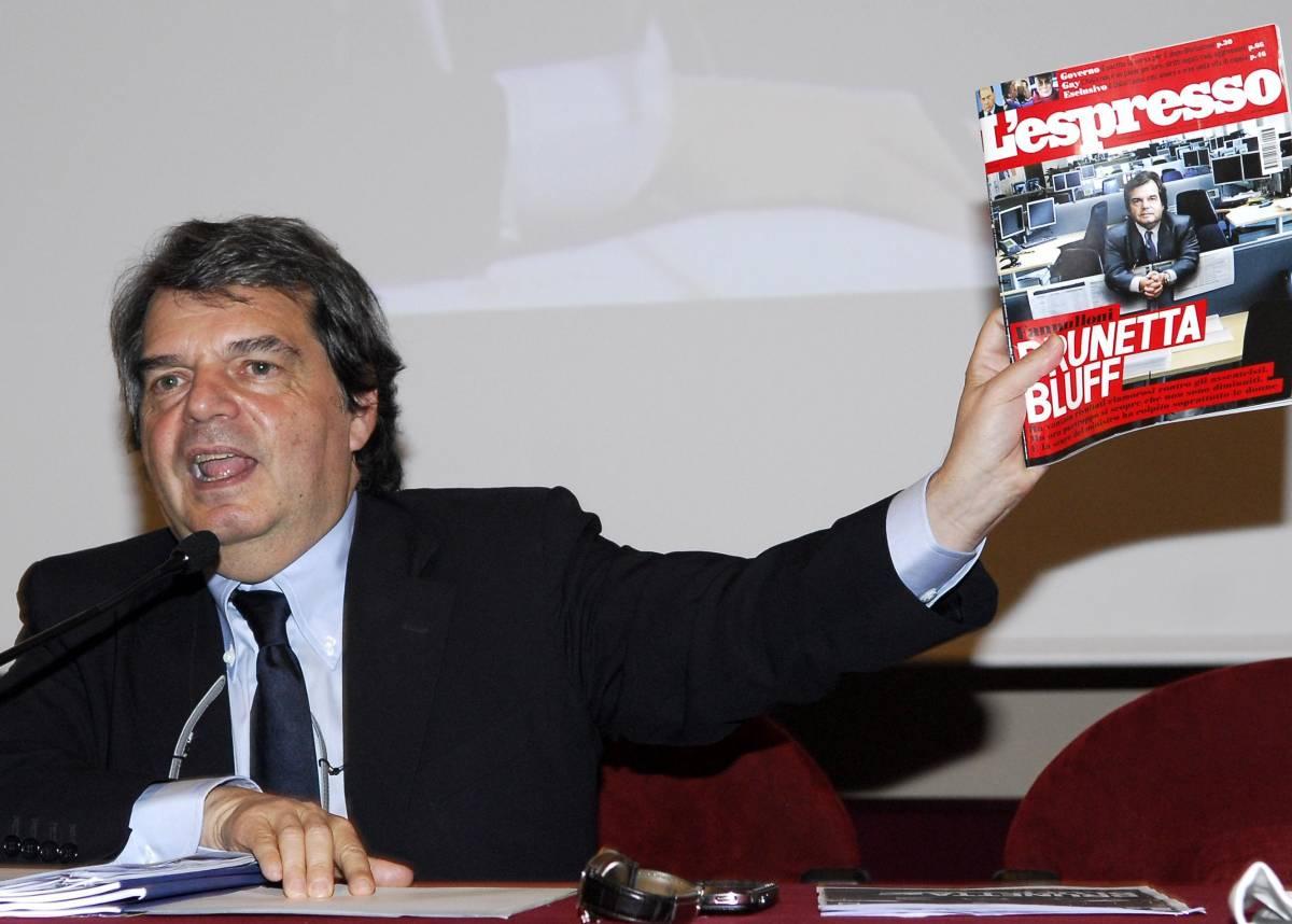 Brunetta attacca L'Espresso: «Che granchio sui fannulloni»