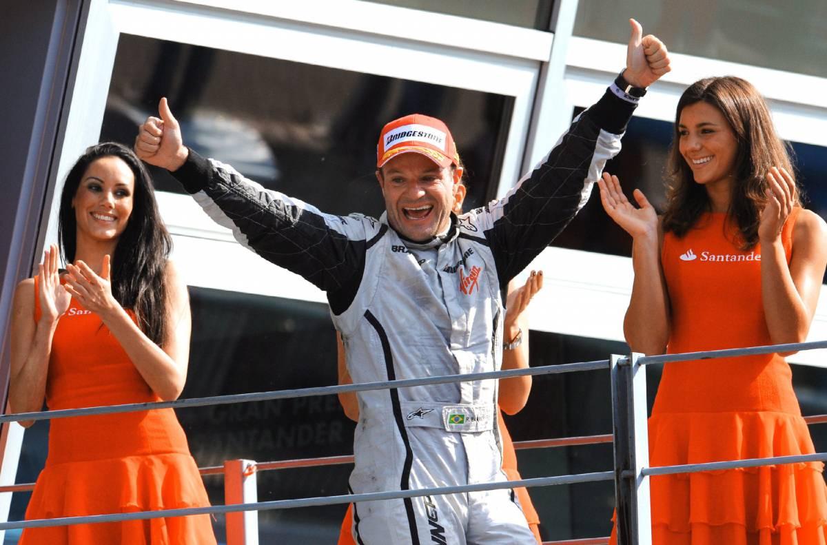 Barrichello domina il Gp di Monza