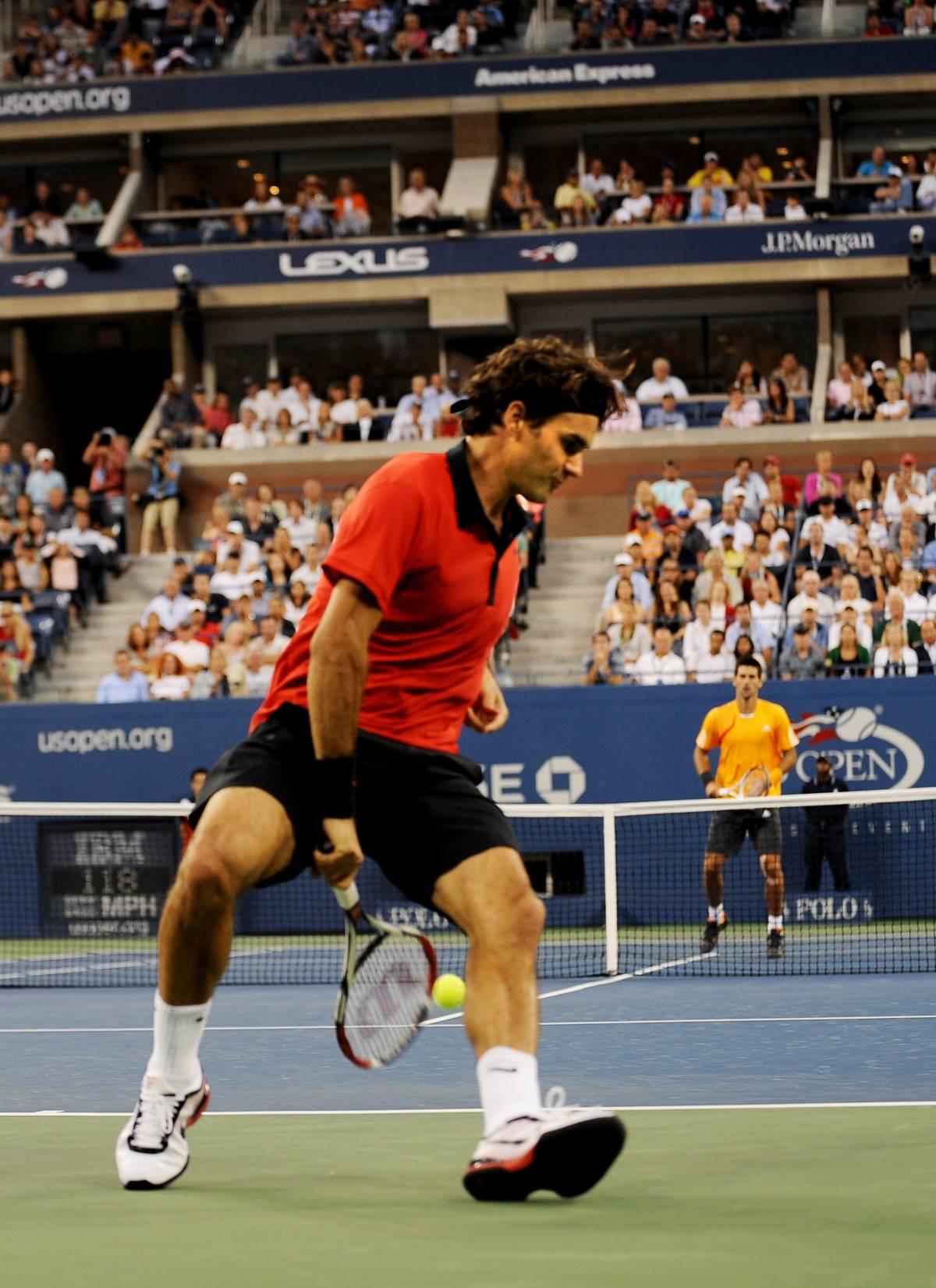 Il colpo perfetto di Federer