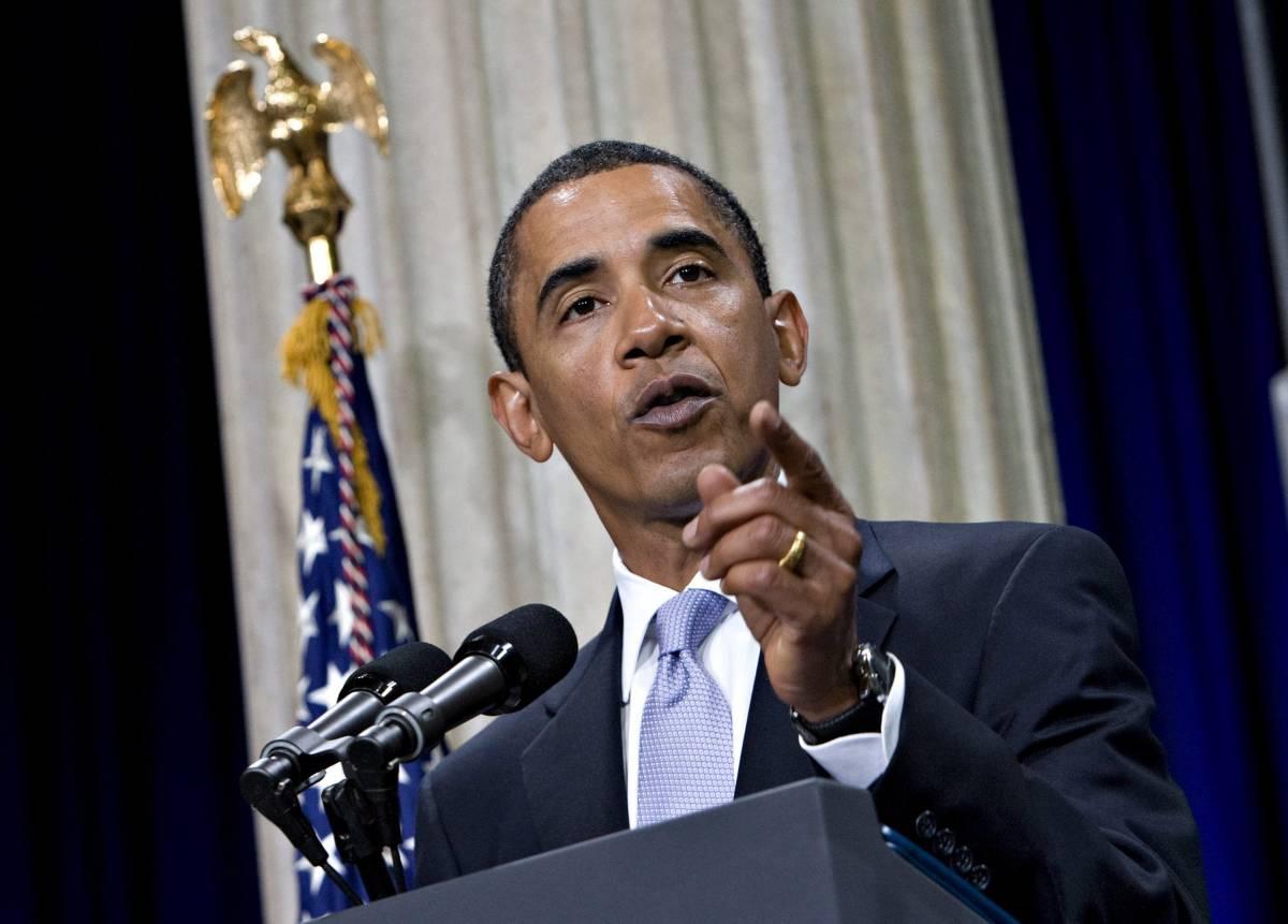 """Obama: """"Crac Lehman, c'è chi ignora la lezione"""""""