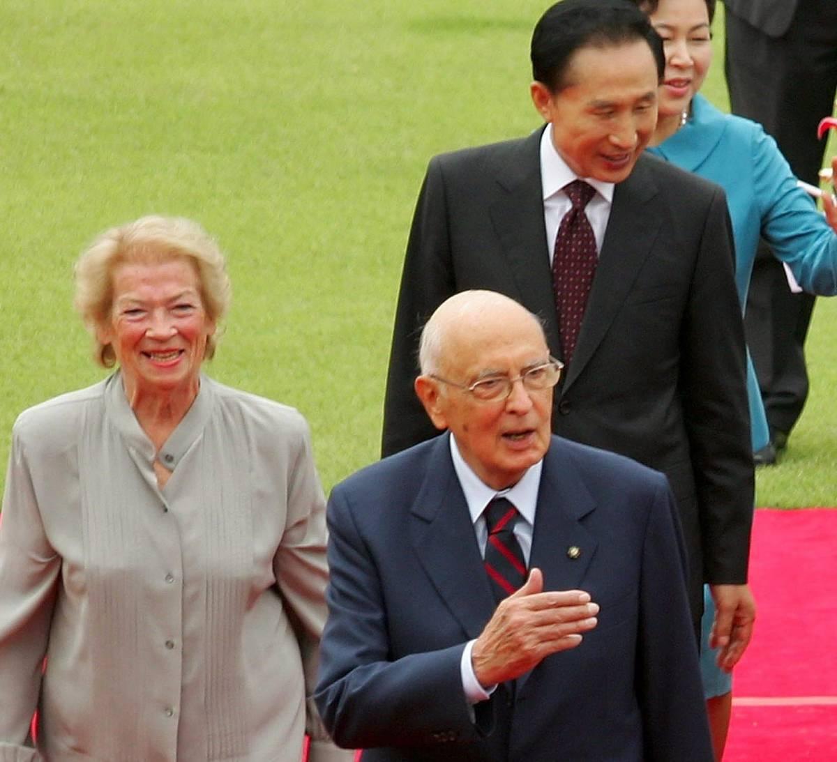 Seul, Clio Napolitano rompe il cerimoniale
