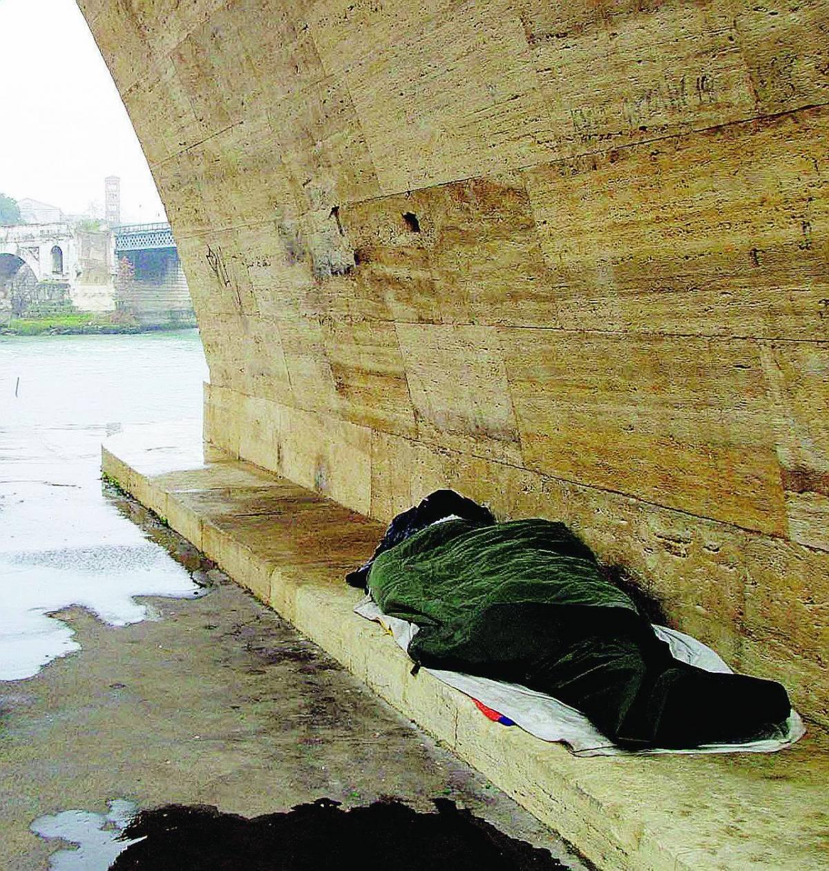 Capitale dei poveri: seimila i senzatetto che vivono in città