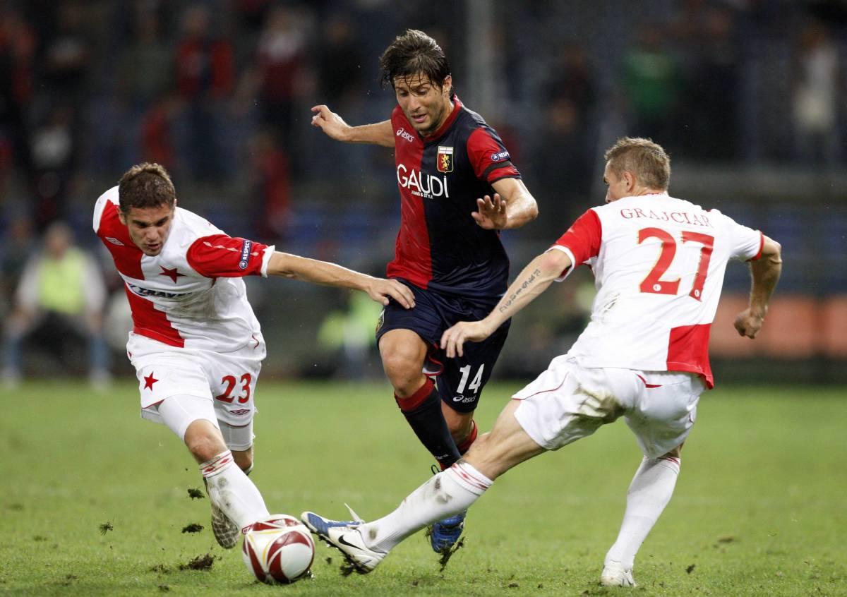 Il Genoa vola in coppa  Roma e Lazio affondano