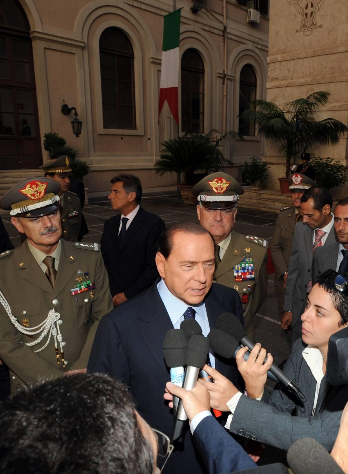 """Berlusconi: """"Serve transition strategy"""""""