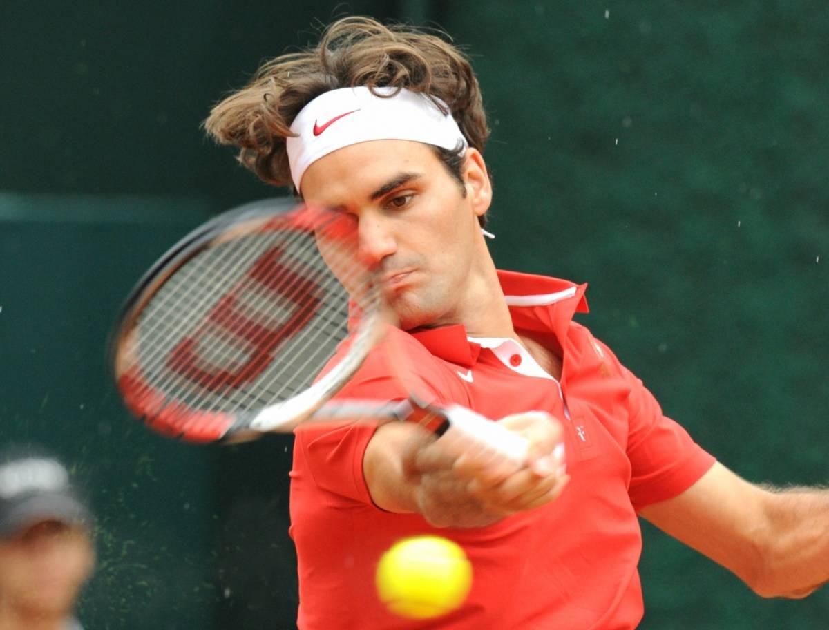 Federer chiude la pratica  Davis, l'Italia resta in B