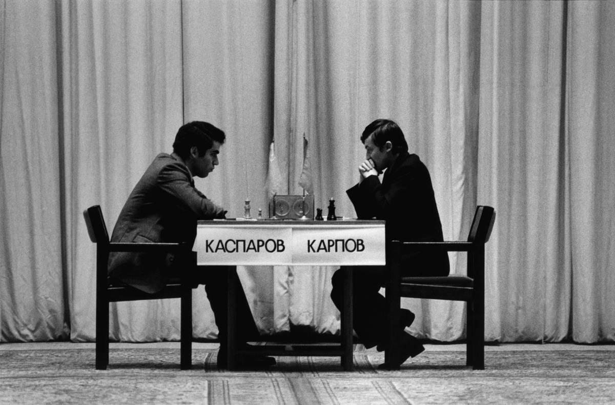 I duellanti Kasparov-Karpov   e la partita che non vuole finire
