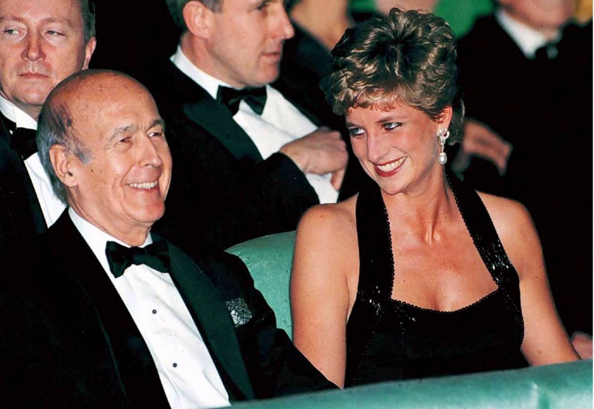 La love story tra Lady D  e l'ex presidente francese