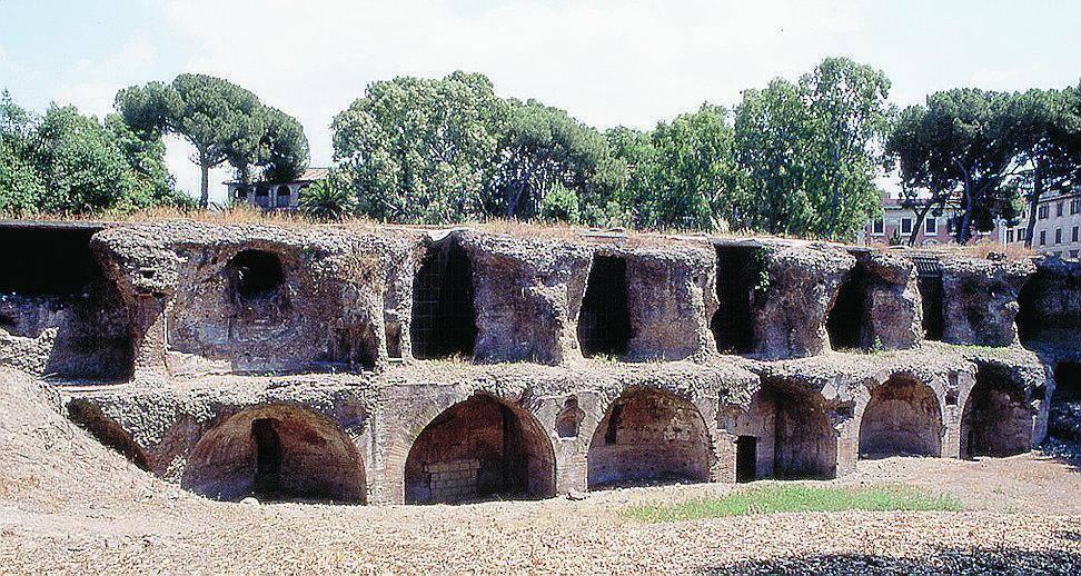 Una cisterna termale a dimensione di imperatore