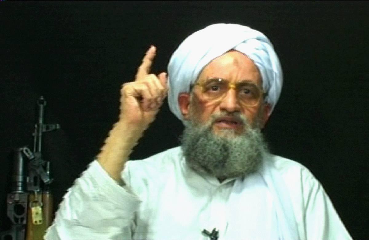 Nuovo video di Al Qaeda su Internet: ricompare al Zawahiri
