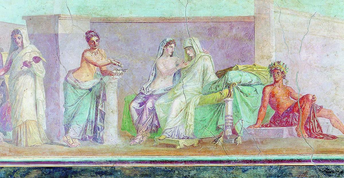 Roma: un trionfo di colori con l'arte d'età imperiale